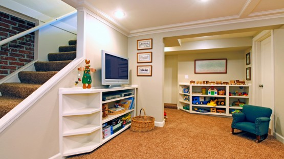 finished basement for kids